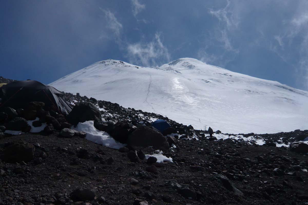 Тропа на восточную вершину Эльбруса