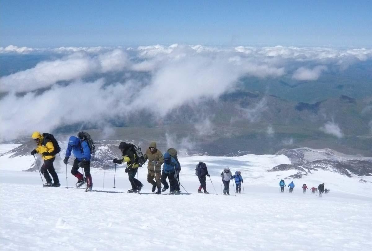 Северный склон Эльбруса