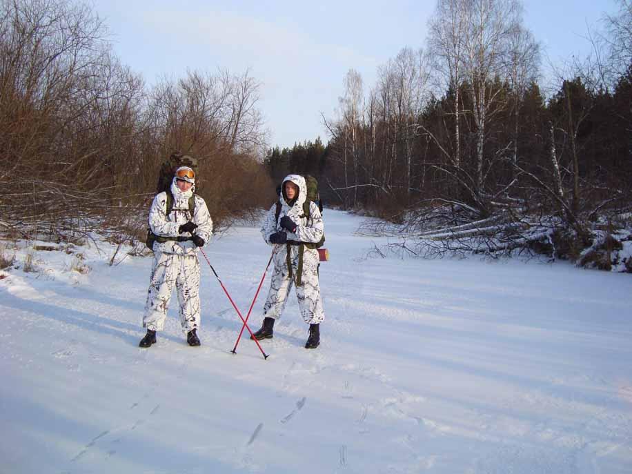 Пешком по льду реки Буланка