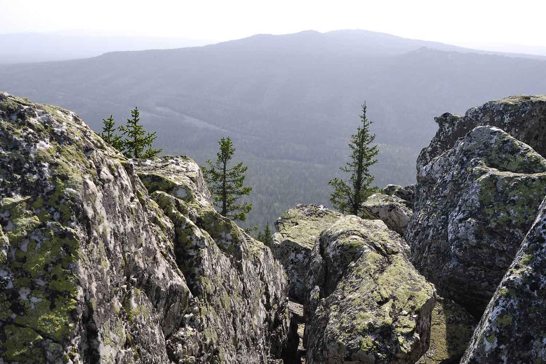 Виды с вершины скал Бараньи лбы