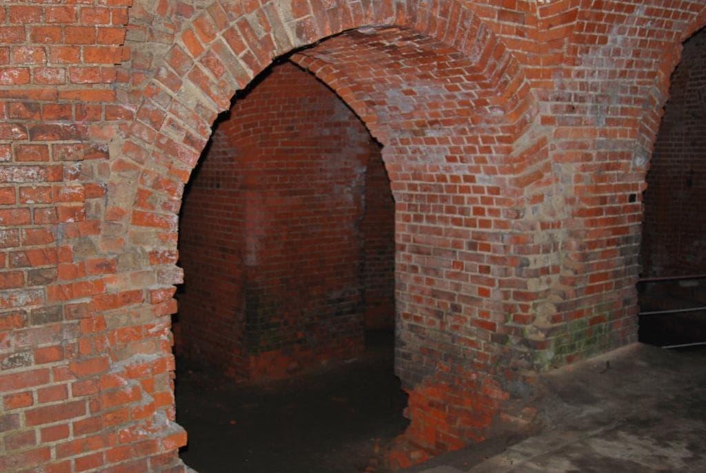 Подземные коридоры форта №5