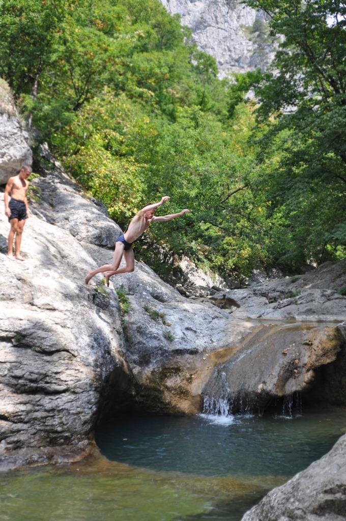 Ванна Молодости в Большом каньоне