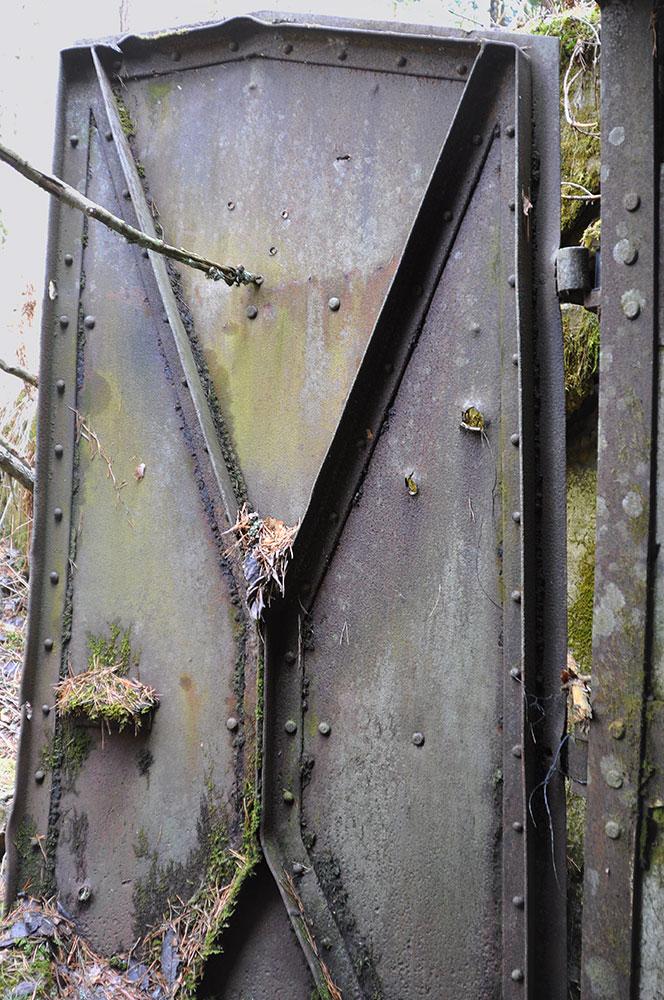 Дверь на входе в Патониеми