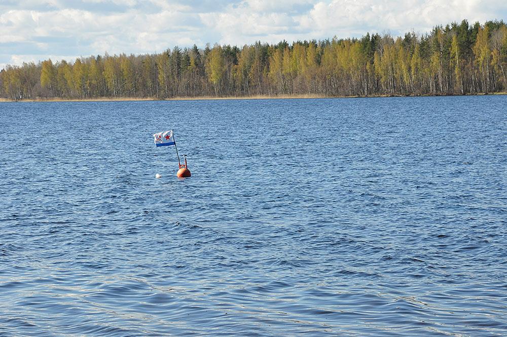ВМФ СССР на озере Суходольское