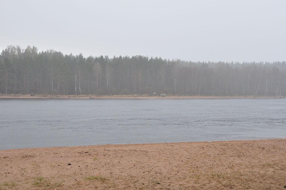 Непогода на реке Бурная