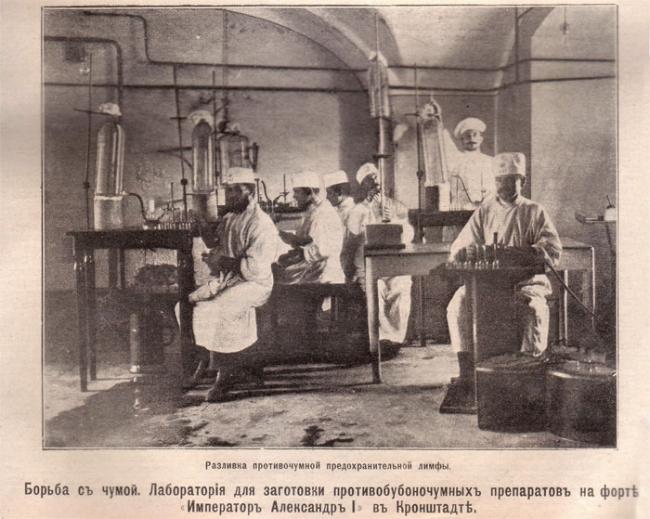 История чумной лаборатории