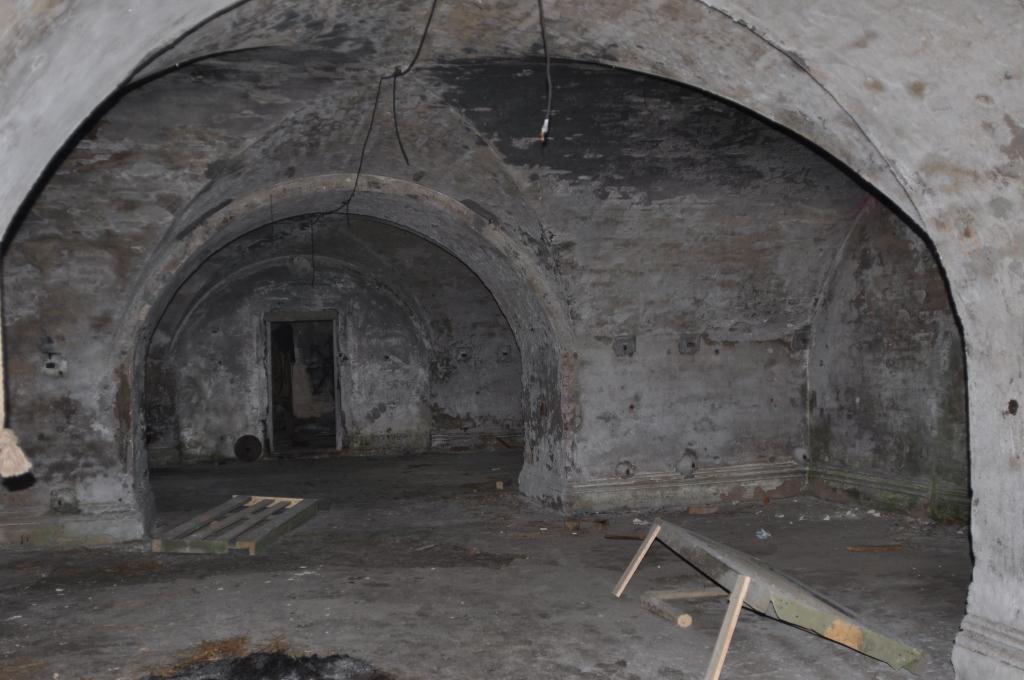 Казармы форта
