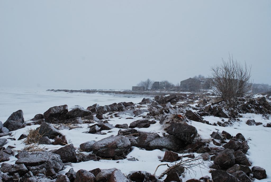 Юго-восточная оконечность форта Северный
