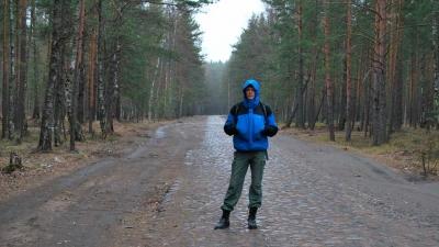 Дорога к форту Красная горка