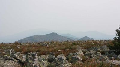Вид на Зигальгу с вершины Большого Шелома