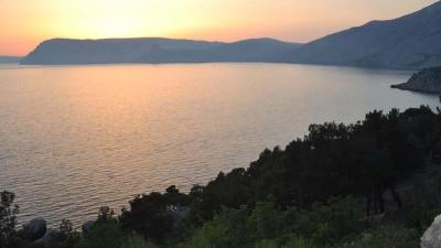 Закат над бухтой Балаклавы
