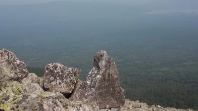 Спуск. Вид на Верхний Катав