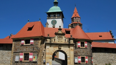 Передовые ворота замковых укреплений