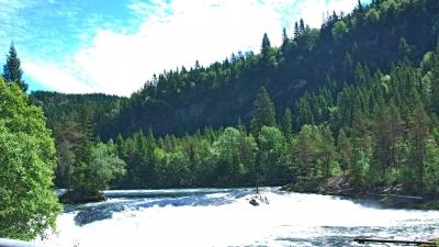 Пороги реки Воссе