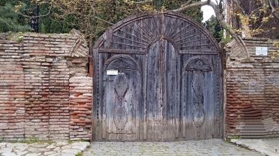 Ворота Бодбийского монастыря