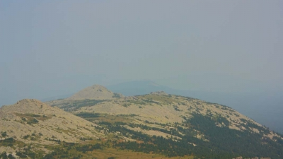 Вид на Зигальгу с вершины Малого Шелома