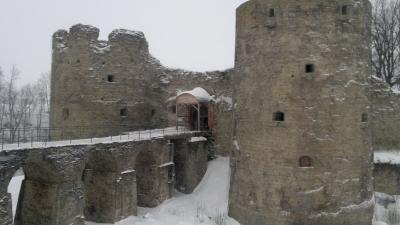 Южная и Северная воротные башни