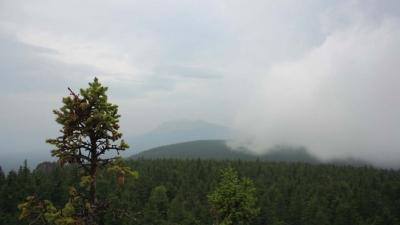 Вид с горы Антенная