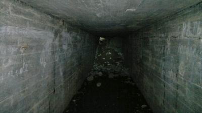 """Внутренние помещения ДОТа """"Миллионник"""" (Sj5).Наши дни"""
