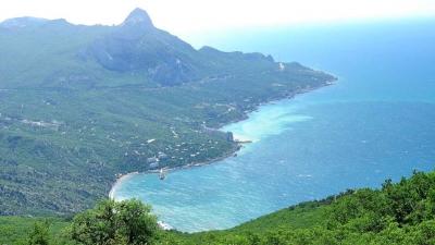 Вид на бухту Ласпи