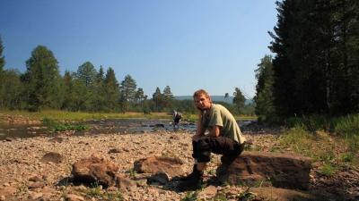 Пересохшая речка Юрюзань