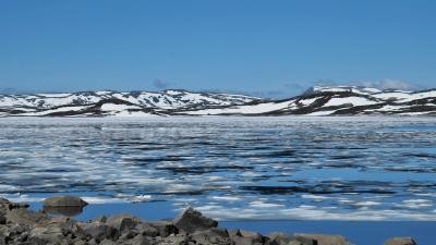 Горное озеро Эртерен