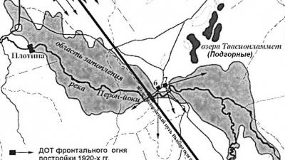 Зона затопления у реки Перовки