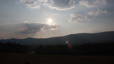 Вид на Зигальгу из Тюлюка