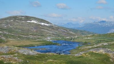 Очередной пейзаж плато Хардангер