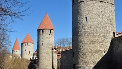 Башни западной части городской стены