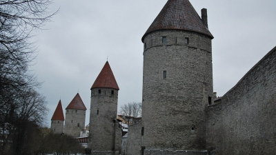 Башни западной окраины города