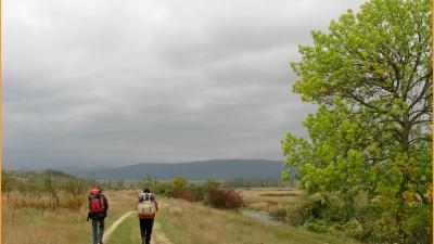 Движение вдоль речки Биюк-Карасу