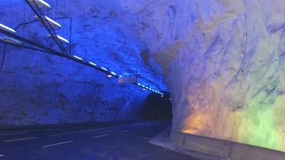 В Лердальском туннеле