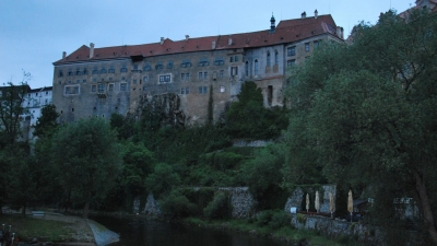 Вечерний замок