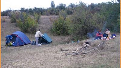 Лагерь первой ночевки