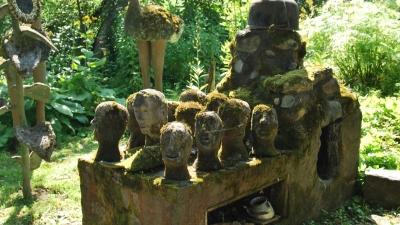 Заготовки незаконченных статуй