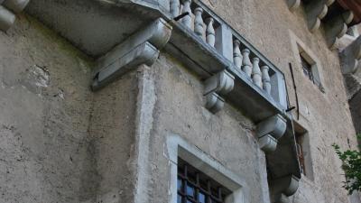 Балкон на южной стене центральной башни