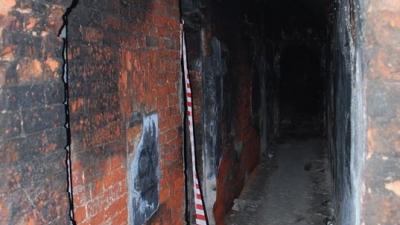 В коридорах порохового погреба