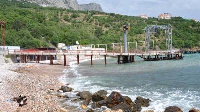 Тихая бухта в Форосе