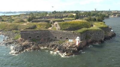 Бастионы крепости Свеаборг