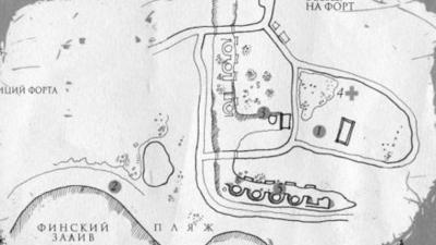 План форта Шанц