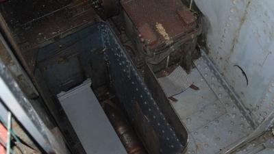 Элеватор  подачи снарядов в боевое отделение башни