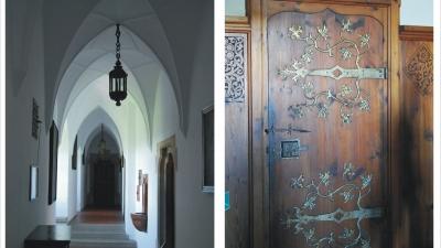 Коридоры и двери замка