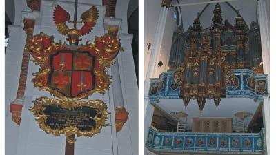 Орган и внутреннее убранство собора