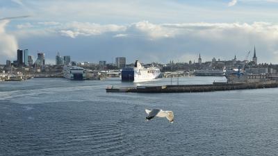 Прощальный взгляд на Таллин