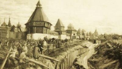 Строительство вологодского кремля