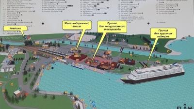 План туристической зоны Флома