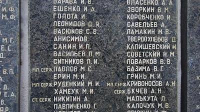 Лейтенант Гавриков А.И.