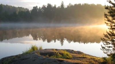 Утро второго дня экспедиции
