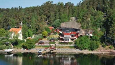Загородные домики шведов